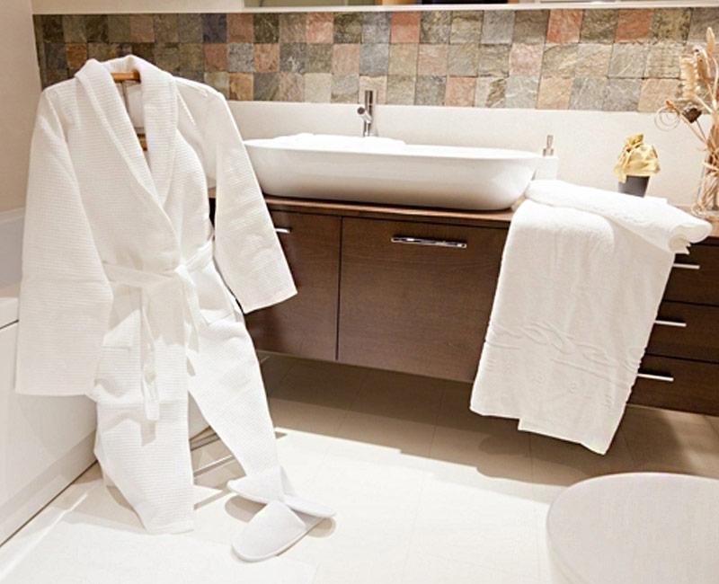 Têxteis de banho para hotéis