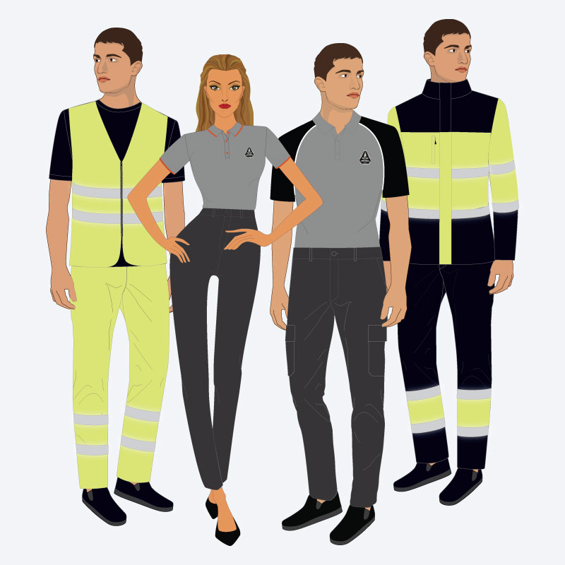 Fardas e uniformes para profissionais de segurança